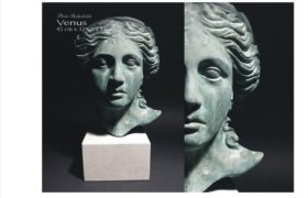 Venus, brąz patynowany, Piotr Suchodolski, Gratia Artis