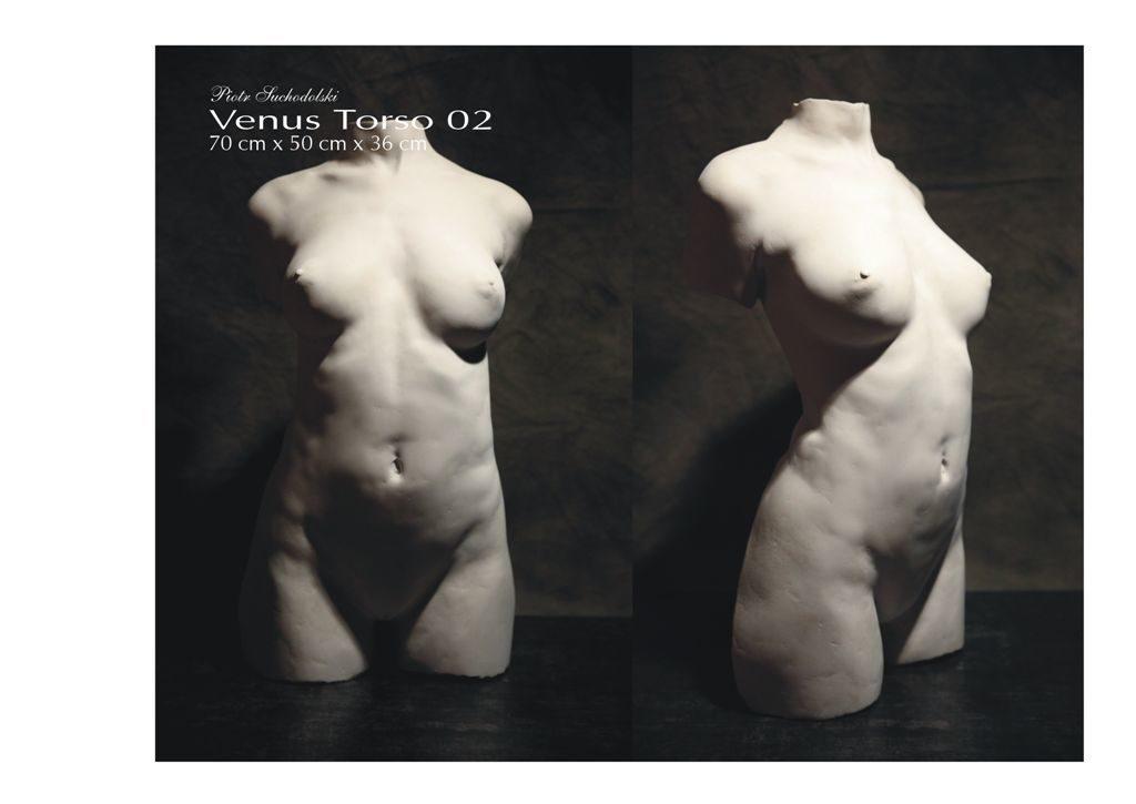 Venus Torso 02, technika własna, Piotr Suchodolski - Gratia Artis