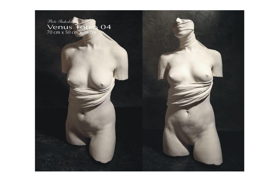 Venus Torso 04, technika własna, Piotr Suchodolski - Gratia Artis